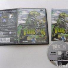 Videojuegos y Consolas: TUROK / JUEGO PC ORDENADOR / CAJA DVD / RETRO. Lote 79888193
