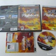 Videojuegos y Consolas: STRIKE FIGHTERS - FIGHT SIMULATOR / JUEGO PC ORDENADOR / CAJA DVD / RETRO. Lote 79888477