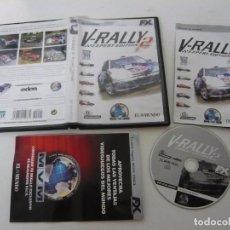 Videojuegos y Consolas: V-RALLY 2 / JUEGO PC ORDENADOR / CAJA DVD / RETRO. Lote 79888549