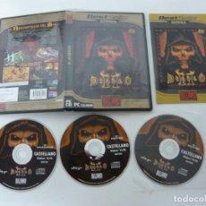 Videojuegos y Consolas: DIABLO II / JUEGO PC ORDENADOR / CAJA DVD / RETRO. Lote 79889301