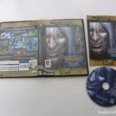 Videojuegos y Consolas: WARCRAFT III FROZEN THRONE / JUEGO PC ORDENADOR / CAJA DVD / RETRO. Lote 79889453