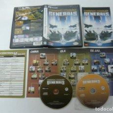 Videojuegos y Consolas: COMMAND & CONQUER GENERALS / JUEGO PC ORDENADOR / CAJA DVD / RETRO. Lote 79890145