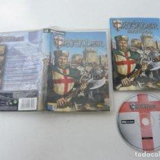 Videojuegos y Consolas: STRONGHOLD CRUSADER / JUEGO PC ORDENADOR / CAJA DVD / RETRO. Lote 79890437