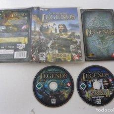 Videojuegos y Consolas: STRONGHOLD LEGENDS / JUEGO PC ORDENADOR / CAJA DVD / RETRO. Lote 79890465