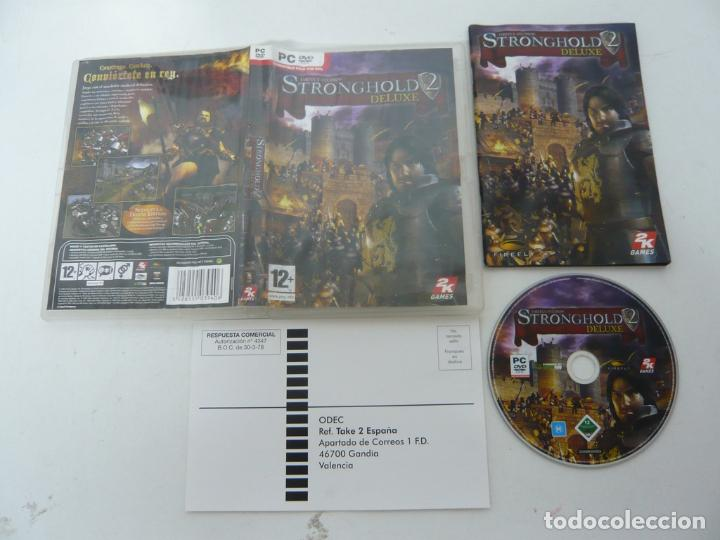 STRONGHOLD 2 DELUXE / JUEGO PC ORDENADOR / CAJA DVD / RETRO (Juguetes - Videojuegos y Consolas - PC)