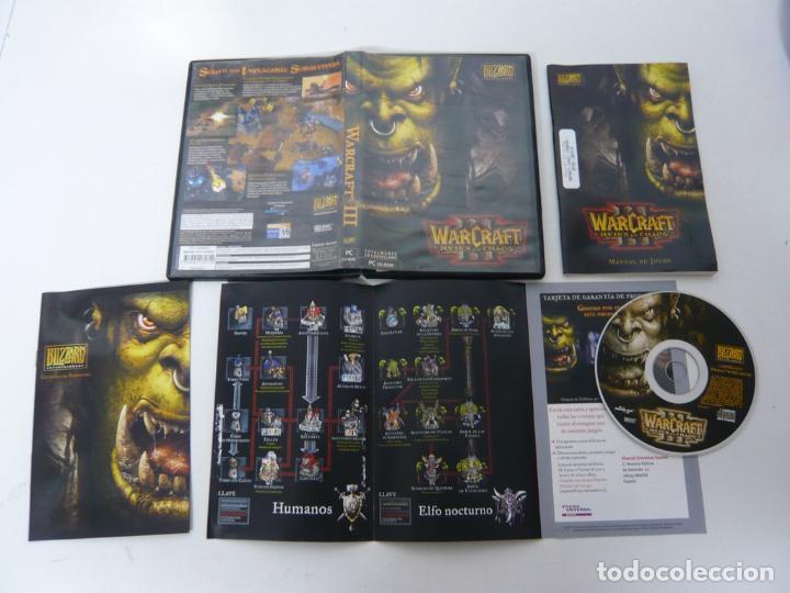 WARCRAFT III / JUEGO PC ORDENADOR / CAJA DVD / RETRO (Juguetes - Videojuegos y Consolas - PC)