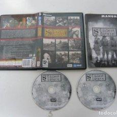 Videojuegos y Consolas: SILENT STORM / JUEGO PC ORDENADOR / CAJA DVD / RETRO. Lote 79890921