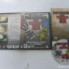 Videojuegos y Consolas: HEARTS OF IRON 2 / JUEGO PC ORDENADOR / CAJA DVD / RETRO. Lote 79891193