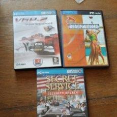 Videojuegos y Consolas: 3 JUEGOS PARA PC. Lote 80223633