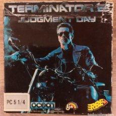 Videojuegos y Consolas: TERMINATOR 2 - PC 5 1/4 3 DISCOS COMPLETO CON INSTRUCCIONES Y TRUCOS.. Lote 80947752