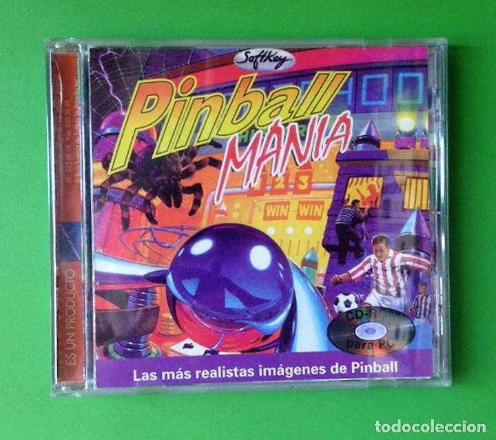 PC PINBALL MANIA - CD ROM - CASTELLANO - SOFTKEY 1997 - VIDEOJUEGO (Juguetes - Videojuegos y Consolas - PC)