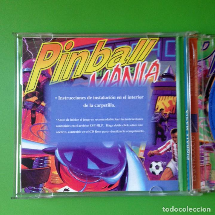 Videojuegos y Consolas: PC PINBALL MANIA - CD ROM - CASTELLANO - SOFTKEY 1997 - VIDEOJUEGO - Foto 2 - 81519788