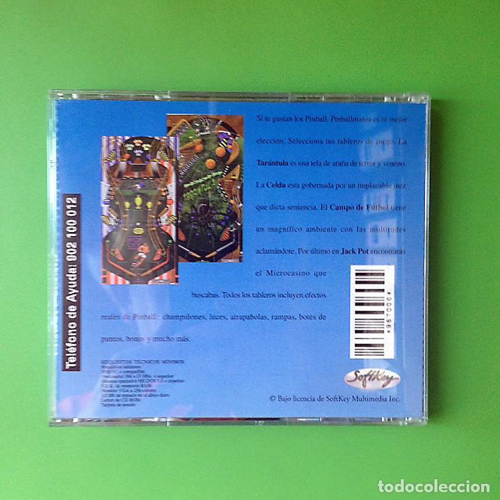 Videojuegos y Consolas: PC PINBALL MANIA - CD ROM - CASTELLANO - SOFTKEY 1997 - VIDEOJUEGO - Foto 4 - 81519788