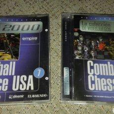 Videojuegos y Consolas: JUEGOS PC ORIGINALES, COMBAT CHESS Y PROPINBALL BIG RACE USA. Lote 81715164