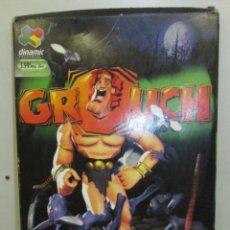 Videojuegos y Consolas: JUEGO PC GROUCH - DINAMIC 2000 - CASTELLANO - CAJA GRANDE CARTÓN. Lote 81944800