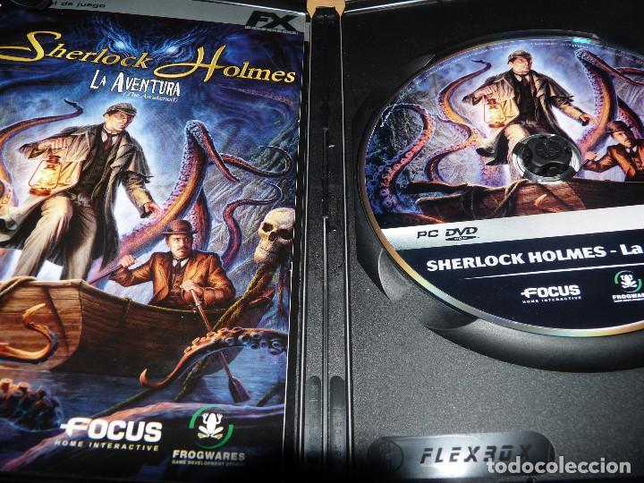 Videojuegos y Consolas: Sherlock Holmes: La aventura - Foto 2 - 83462868