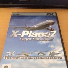 Videojuegos y Consolas: X PLANE 7, JUEGO PC. Lote 83831840