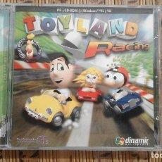 Videojuegos y Consolas: TOYLAND RACING - PC CD-ROM - WINDOWS 95 / 98. Lote 84063188