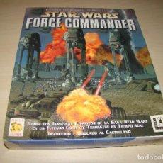 Videojuegos y Consolas: STAR WARS - FORCE COMMANDER - CAJA GRANDE. Lote 84449116