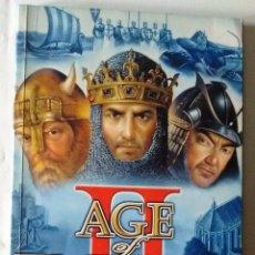 Videojuegos y Consolas: AGE OF EMPIRES THE AGE OF KINGS 2 LIBRO DEL JUEGO 1999 ESPAÑOL. Lote 140672932