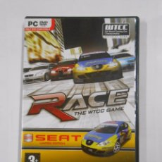 Videojuegos y Consolas: RACE THE WTCC GAME. SEAT LIMITED EDITION. PC DVD ROM. TDKV13. Lote 84904048