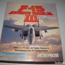 Videojuegos y Consolas: F-15 STRIKE EAGLE III. Lote 85364776