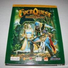 Videojuegos y Consolas: EVERQUEST - THE RUINS OF KUNARK . Lote 85365148