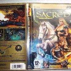 Videojuegos y Consolas: SACRED ORO PREMIUM DVD-LA LEYENDA DEL ARMA SAGRADA-EDICCION DE ORO. Lote 85471848