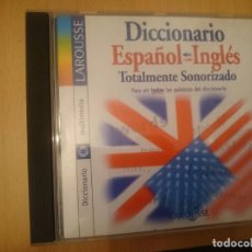 Videojuegos y Consolas: CDROM DICCIONARIO ESPAÑOL INGLES TOTALMENTE SONORIZADO LAROUSSE --REFESCDLADEARES2. Lote 85657680