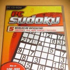 Videojuegos y Consolas: PC SUDOKU, JUEGO PC CD ROM,. ERCOM. Lote 86217804