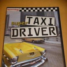 Videojuegos y Consolas: SUPER TAXI DRIVER, JUEGO PC CD ROM,. ERCOM. Lote 86218144