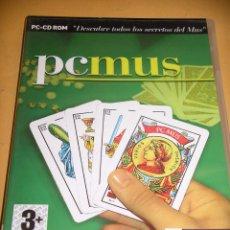 Videojuegos y Consolas: PC MUS, JUEGO PC CD ROM,. ERCOM. Lote 161901788