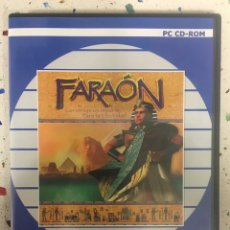 Videojuegos y Consolas: FARAÓN: VÍDEO JUEGO PC. Lote 129001627