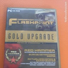 Videojuegos y Consolas: GOLD UPGRADE OPERATION FLASHPOINT RED HAMMER CAMPAÑA SOVIETICA - CODEMASTERS. Lote 89163982