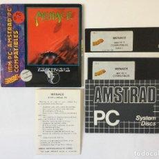 Videojuegos y Consolas: MENACE (PSYGNOSIS Y ERBE SOFTWARE) JUEGO PC DISKETTE 5 1/4. Lote 86974280