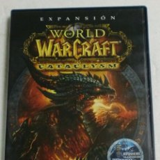 Videojuegos y Consolas: BLIZARD - PC/DVD ROM - EXPANSION CATACLYSM - WORLD OF WARCRAFT. Lote 87303060