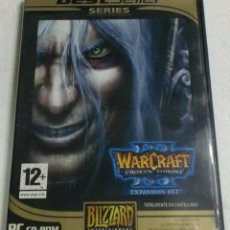 Videojuegos y Consolas: BLIZARD - PC/DVD ROM - WARCRAFT THE FROZEN THRONE III (EXPANSION SET). BEST SELLER SERIES. Lote 87303956