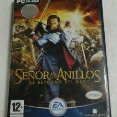 Videojuegos y Consolas: EA GAMES - PC/CD ROM - EL SEÑOR DE LOS ANILLOS EL RETORNO DEL REY. Lote 87308908