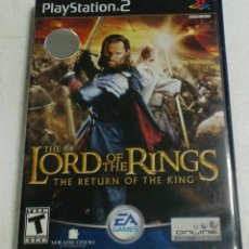 Videojogos e Consolas: EA GAMES - PLAY STATION 2 - THE LORD OF THE RINGS . THE RETURN OF THE KING. Lote 87310132
