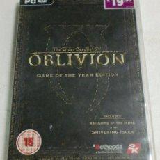 Videojuegos y Consolas: BETHESDA SOFTWORKS - PC/DVD ROM - THE ELDER SCROLLS IV OBLIVION (GAM OF THE YEAR EDITION). Lote 87310580