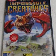 Videojuegos y Consolas: RELIC ENTERTAINMENT - MICROSFOT GAMES STUDIOS - PC/CD - IMPOSIBLE CREATURES. Lote 87311716