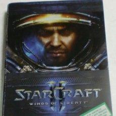 Videojuegos y Consolas: BLIZARD - PC/DVD ROM - STARCRAFT II WINGS OF LIBERTY. Lote 87312104