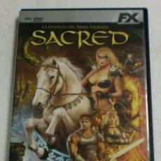Videojuegos y Consolas: FX ENTERTAINMENT - PC/DVD ROM - SACRED LA LEYENDA DEL ARMA SAGRADA. Lote 87313788