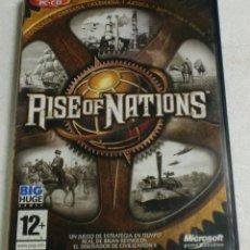 Videojuegos y Consolas: BIG HUME GAMES - MICROSOFT GAMES STUDIOS - PC/CD - RISE OF NATIONS. Lote 87318420
