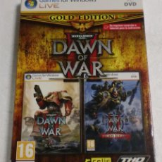 Videojuegos y Consolas: RELIC ENTERTAINMENT - THO - GAMES FOR WINDOWS LIVE - PC/DVD - WARHAMMER 40.000 DAWN OF WAR (GOLD). Lote 87318716
