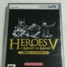 Videojuegos y Consolas: UBISOFT - CODEGAME - PC/DVD ROM - HEROES OF MIGHT AND MAGIC V (GOLD EDITION). Lote 87318952