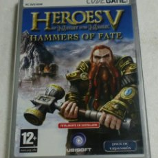 Videojuegos y Consolas: UBISOFT - CODEGAME - PC/DVD ROM - HEROES OF MIGHT AND MAGIC V. HAMMERS OF FATE. Lote 87319748