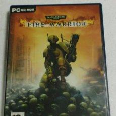 Videojuegos y Consolas: THO - PC/CD ROM - WARHAMMER 40.000 FIRE WARRIOR. Lote 87320164