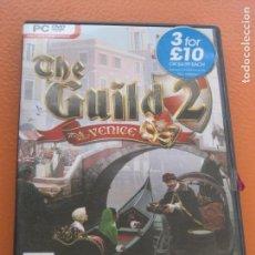 Videojuegos y Consolas: THE GUILD 2 VENICE - VENECIA. Lote 87409192