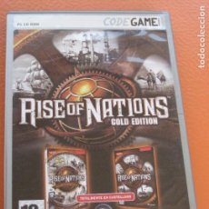 Videojuegos y Consolas: RISE OF NATIONS GOLD EDITION CODE GAME. Lote 88948623